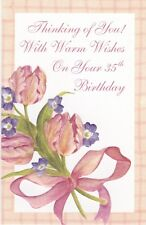 Birthday Card with Envelope 35th