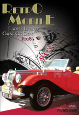 Retro Mobile 2008 Europe's Leading Classic Car Show (New DVD) Citroen Bugatti