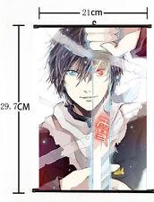 Hot Japan Anime Noragami Aragoto YATO Yukine Iki Poster Wall Scroll Home Decor