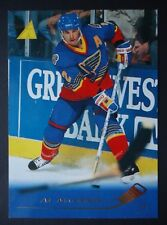 NHL 79 Al MacInnis St. Louis Blues Pinnacle 1995/96 (6,4 x 8,9)