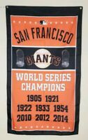 San Francisco Giants World Series Banner 3x5 Ft Flag Man Cave Gift Baseball MLB
