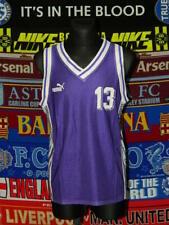 5/5 Puma adults XL/M MINT #13 basketball kit shirt + shorts retro vintage