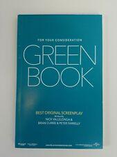 GREEN BOOK Screenplay Nick Vallelonga Brian Currie & Peter Farrelly