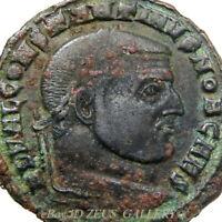 RARE CONSTANTINE the GREAT /Carthago Carthage Follis Ancient Roman Imperial Coin