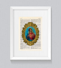 RuPaul Holy Bianca Del Rio Virgin Mary Vintage Dictionary Book Print Wall Art