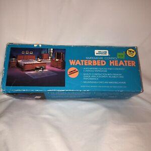 Blue Magic Hardside Waterbed Heater VHTF Temperature Control NOS Vtg 1991