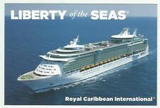 ms Liberty of the Seas.....cruise ship...  RCI  Post Card