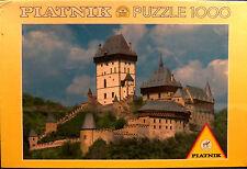 NEW Sealed Piatnik 1000 PC. Puzzle 5428 CASTLE HRAD KARLSTEJN CHECH REPUBLIC