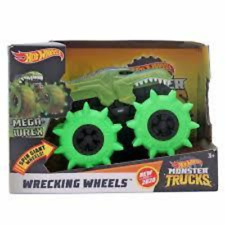 Hot Wheels Monster Trucks Wrecking Wheels MEGA WREX Toy Vehicle