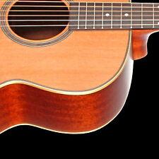 Teton STJ105NT Jumbo Guitar & H/S Case, Solid Cedar Top Mahogany B&S, Matte