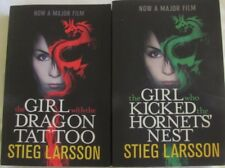 The Girl with the Dragon Tattoo & Kicked the Hornets' Nest by Stieg Larsson sc