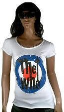GENIAL AMPLIFIED Oficial The Who Target Logo 70's Rock Star Vintage VIP