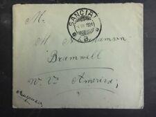 1924 SanciAi Lithuania cover to Bramwell Usa