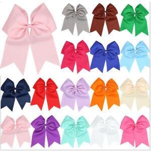 Girl Elastic Cute Ribbon Bow Hair Tie Rope Women Hair Band Scrunchies Ponytail