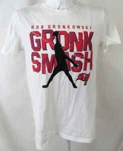 "Tampa Bay Buccaneers Men S or XL Short Sleeve ""GRONK SMASH"" T-shirt ATPA 162"