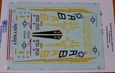 Microscale Decal 1:48 Scale #MS48-1191 F-14A Tomcat: VF-33 USS America, 1983