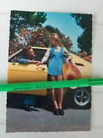 Lotto TRE Cartoline CECAMI ORIGINALI OPEL MANTA N° 976 anni 70 vintage