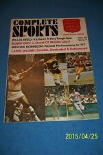 1971 Complete Sports BOSTON BRUINS Bobby ORR Stanley Cup II BROOKS ROBINSON