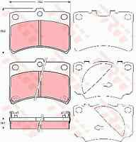 TRW GDB3219 Brake Pad Set