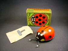 """KDN """" Coccinelle """" wind-up mechanical tin toy (made in czéchoslovakia) + box"""