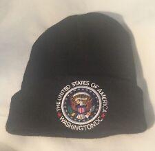 USA SKI CAP HAT PRESIDENT EAGLE SEAL UNITED STATES of AMERICA Washington DC