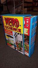 EC Weird Science Complete 4 Volume HC Box Slipcase Set Russ Cochran 1980