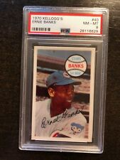 1970 KELLOGG'S #40 ERNIE BANKS *PSA GRADED NM/MT 8 **SHARP* *KGC-2485