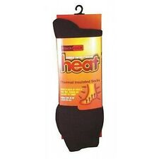 Blackrock Thermal Insulated Socks - Heat Holding - UK Size 6 - 13 Workwear