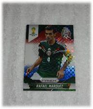 2014 Panini Prizm World Cup Red Blue Plaid Rafael Marquez - Mexico #145