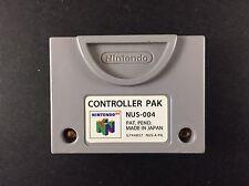 Genuine CONTROLLER PAK - Nintendo 64 - Official N64 Memory Card/Save Pack - VGC
