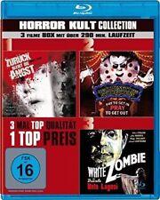 Horror Kult Collection - 3 Filme - White Zombie...  Blu-ray/NEU/OVP