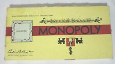 VINTAGE 1954 MONOPOLY BOARD GAME - COMPLETE - WELL TAKEN CARE OF!