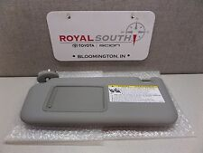 Toyota Rav4 2006 - 2009 Gray Driver Side Vinyl Sun Visor Genuine OEM OE 739f05a8ac0