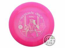 New Westside Discs Vip King 173g Pink Prism Foil Distance Driver Golf Disc