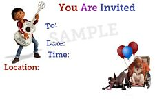 Coco Party Invitations with matching envelopes, birthday, 12pack