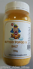 750g Jar Butter Popcorn Salt, Cinema Quality Popcorn Salt, Australian Salt