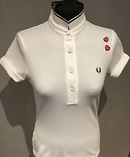 "Fred Perry : Amy Winehouse Shirt ( Uk 10  34"" ) White"