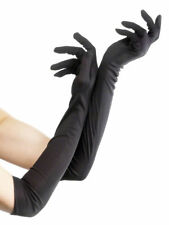 Smiffys 52 Cm Gloves (long Black)