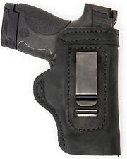 Smith and Wesson M&P Shield Inside The Waistband Holster - Black - Right Hand