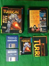 Turrican - Amiga - EUR (FR, UK, DE, IT) - complet avec poster