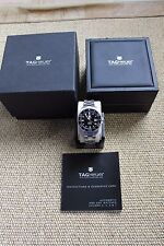 Tag Heuer WAN2110 Aquaracer Calibre 5 Automatic Watch Mens Black SS Box BA0822