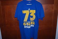 Golden State WARRIORS Shirt Blue Size M Men 73 THE NEW GOLDEN STANDARD NWT