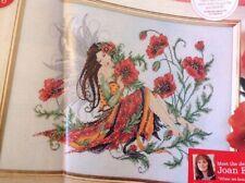 Joan Elliott Poppy Flower Fairy Cross Stitch Chart