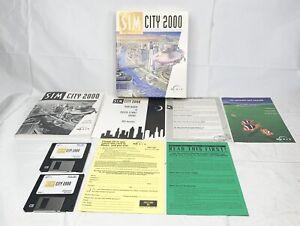 "Sim City 2000 (1993 Maxis) Complete 3.5"" 1.44 MB Disks"