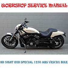 HARLEY DVDSN  NIGHT ROD SPECIAL 1250 ABS VRSCDX WORKSHOP MANUAL (DIGITAL e-COPY)