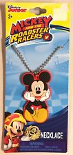 Disney Jr. Mickey Mouse Roadster Racer Necklace Jewelry Chain Gift Set New