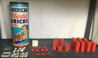 American Plastic Bricks by Elgo No. 725 133 Pieces