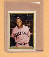 Willie Mays '51 Minneapolis Millers rare minor league card, Superior Card Co.
