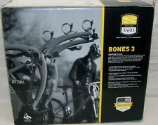 """NIB Saris Bicycle Rack """"Bones 3"""" 801BL 3-Bike Capacity (Black) Made In USA NEW"""