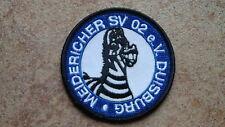 Aufnäher Meidericher SV 02 e.V. MSV Duisburg Zebra (Nr.941